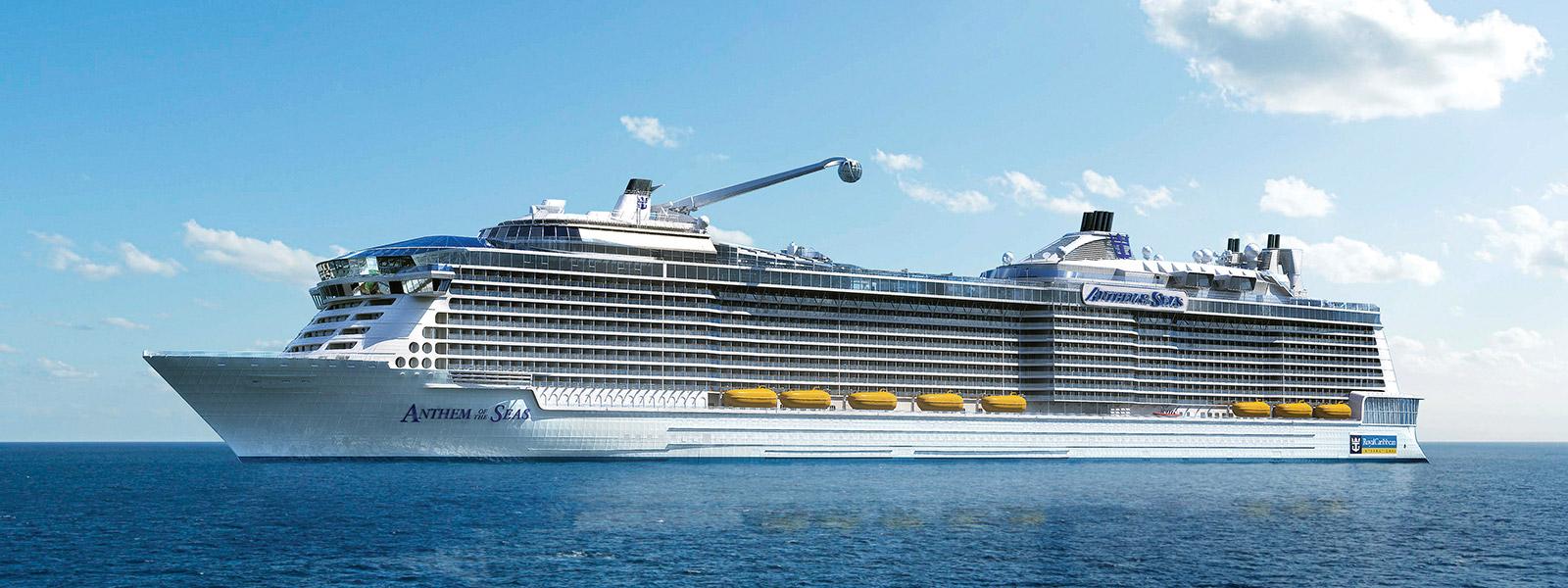 Anthem Of The Seas Cruise Ship Lisbon 2015 Lisbon