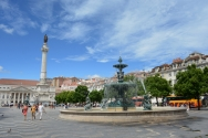 Lisbon Downtown Rossio