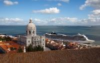 Alfama Old Quarter of Lisbon