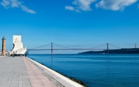 Lisbon River and Discovery Monument