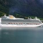 Azura P&O Cruise Ship Lisbon 2015