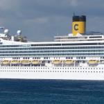 Costa Magica Cruise Ship Lisbon 2015