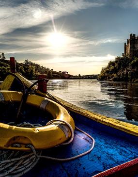 Tour privado de un día por el castillo / convento de Tomar y el castillo de Almourol