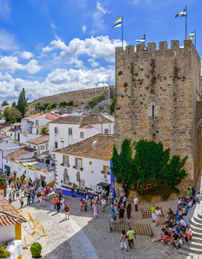 Sintra + Obidos Medieval Villages Private Tour
