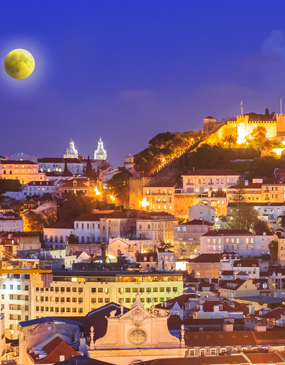 Tour privado de Lisboa por la noche