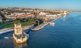 Lisbon Half-Day Private Tour + Private Helicopter Flight Over Lisbon